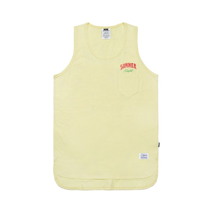 STIGMA FSNC LONG SLEEVELESS YELLOW - 풋셀스토어
