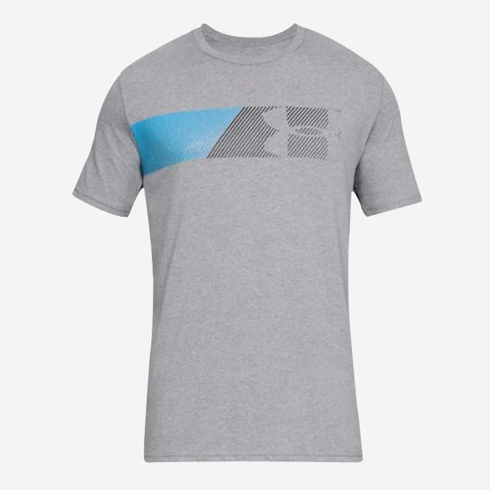 언더아머 패스트 레프트 체스트 반팔티 1329584-035 티셔츠 - 풋셀스토어