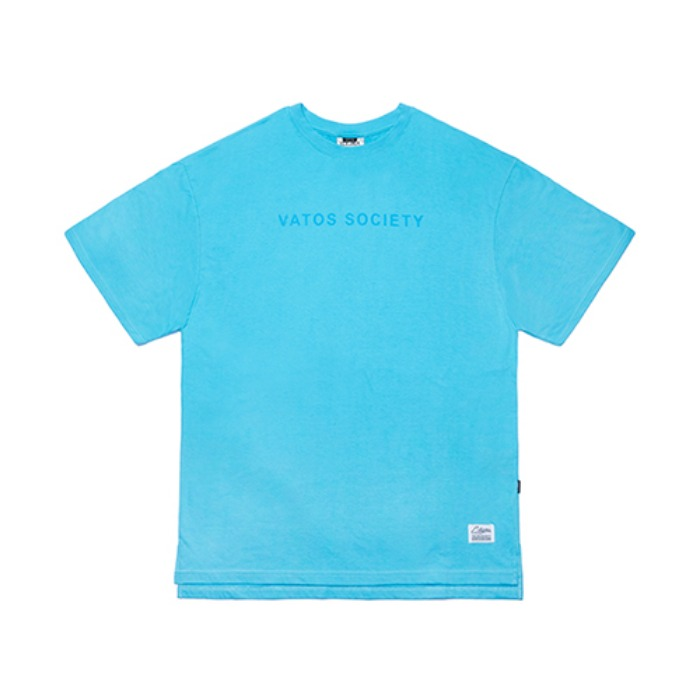STIGMA V COLORS OVERSIZED T-SHIRTS BLUE - 풋셀스토어
