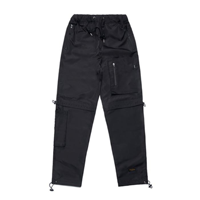 STIGMA X CALIPH ASH TECH STRING JOGGER PANTS BLACK - 풋셀스토어