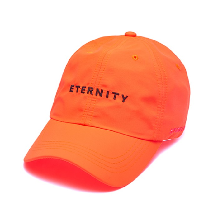 STIGMA ETERNITY BASEBALL CAP ORANGE - 풋셀스토어