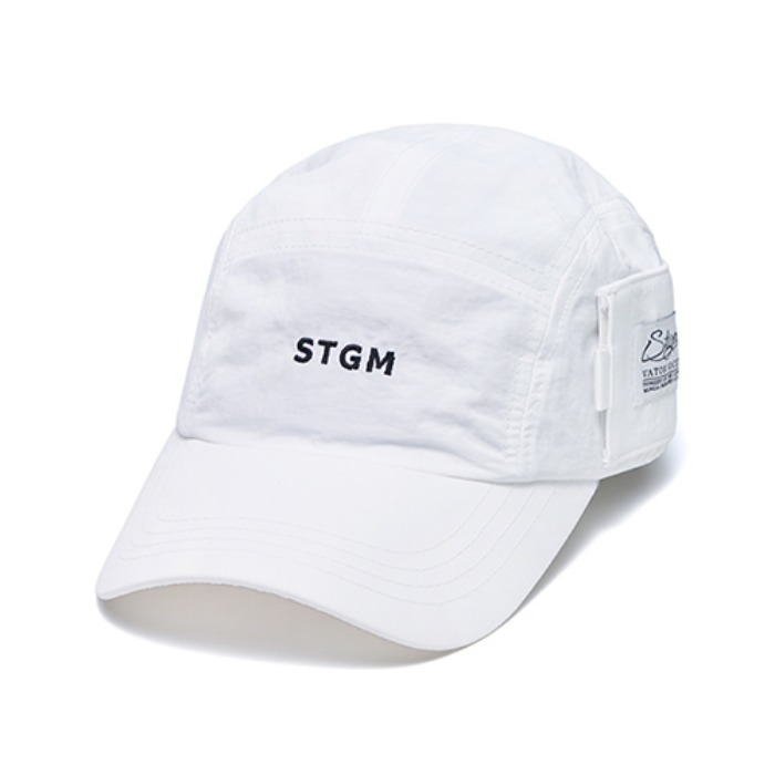 STIGMA STGM POCKET CAMP CAP WHITE - 풋셀스토어