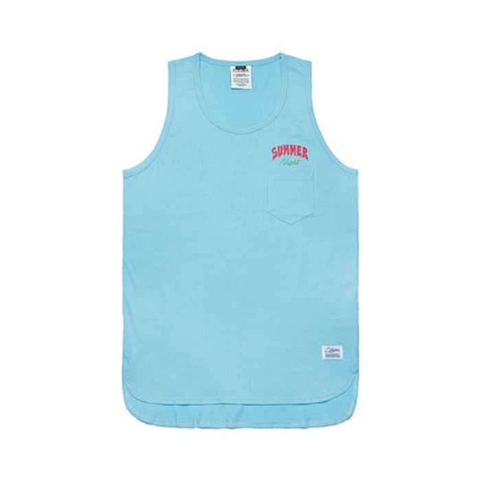 STIGMA FSNC LONG SLEEVELESS BLUE - 풋셀스토어