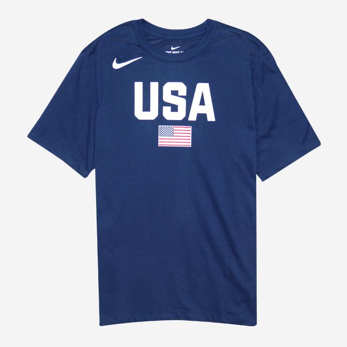 나이키 USA 국가대표 드라이핏 반팔티 AV4352-451 티셔츠 - 풋셀스토어