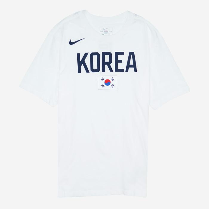 나이키 KOREA 국가대표 드라이핏 반팔티 BQ3739-100 티셔츠 - 풋셀스토어