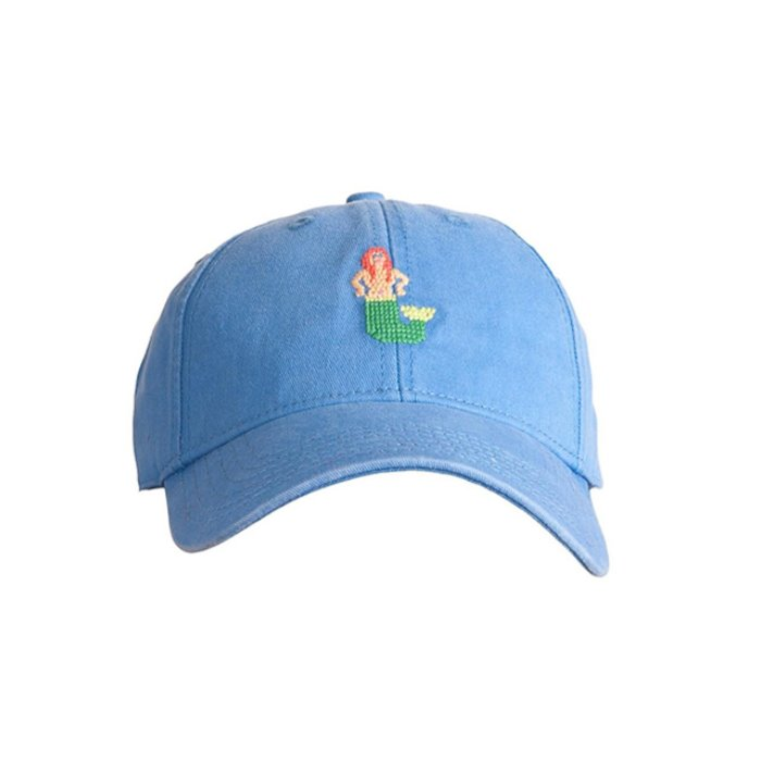 하딩레인 Adult`s Hats Mermaid on Periwinkle Blue - 풋셀스토어