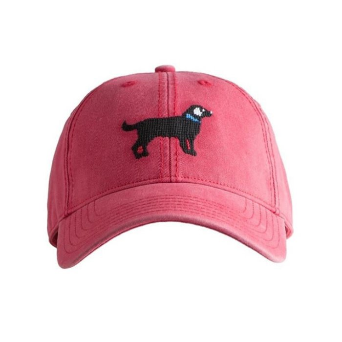 [하딩레인] Adult`s Hats Black Lab on Weathered Red - 풋셀스토어