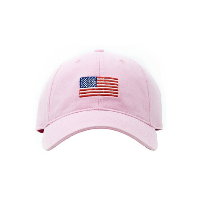 [하딩레인] Adult`s Hats American Flag on Light Pink - 풋셀스토어