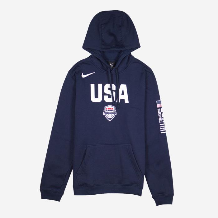 나이키 USA 국가대표 클럽 플리스 후드티 CJ6195-451 티셔츠 - 풋셀스토어