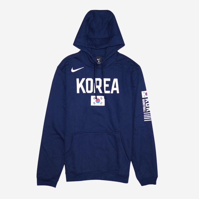 나이키 KOREA 국가대표 클럽 플리스 후드티 CJ7616-451 티셔츠 - 풋셀스토어