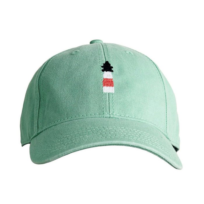 하딩레인 Adult`s Hats Lighthouse on mint hat - 풋셀스토어