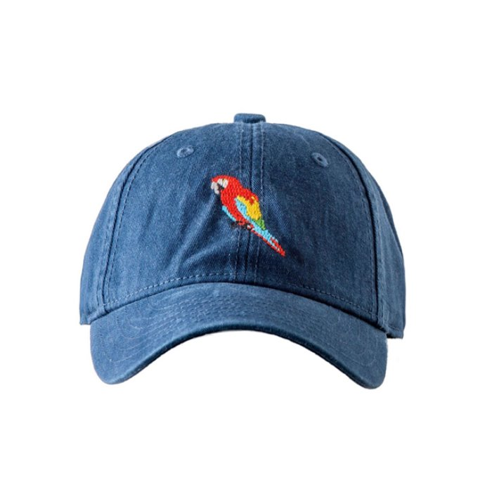 [하딩레인] Adult`s Hats Scarlet Macaw on Navy - 풋셀스토어
