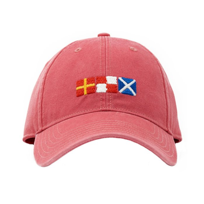 [하딩레인] Adult`s Hats Rum Signal Flags on New England Red - 풋셀스토어