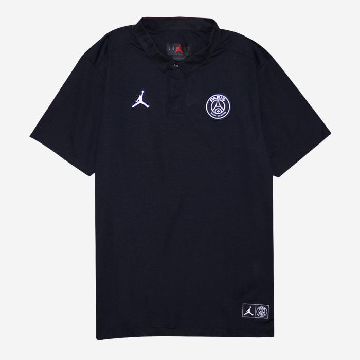 나이키 조던 x 파리생제르맹(PSG) 폴로 반팔티 BQ8352-010 티셔츠 - 풋셀스토어