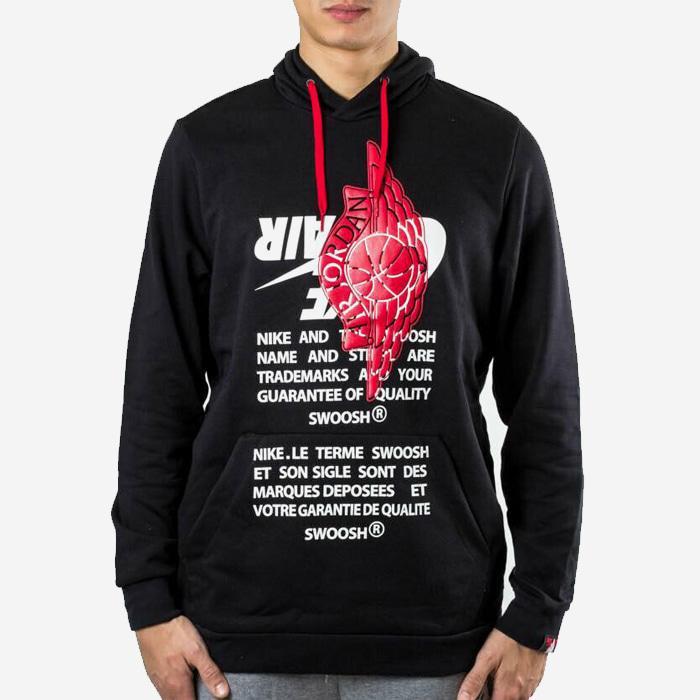 나이키 조던 점프맨 클래식 후드티 BQ8468-010 티셔츠 - 풋셀스토어