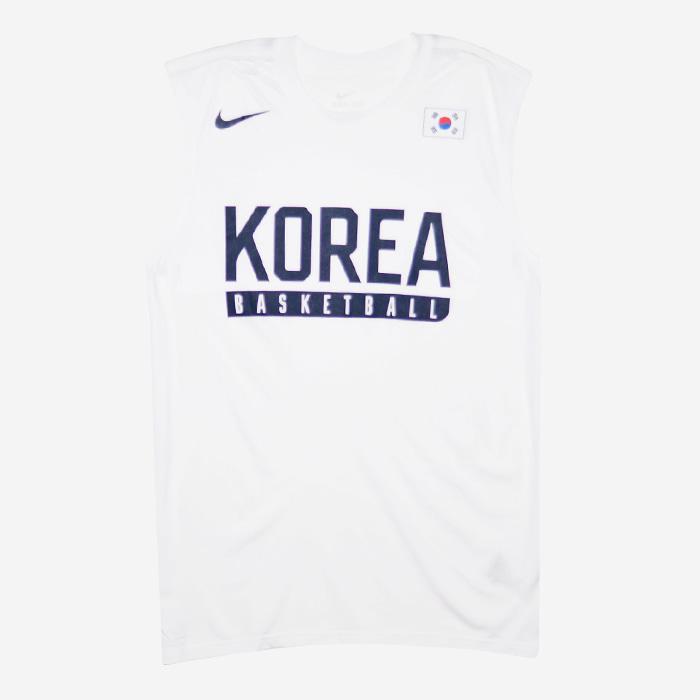 나이키 KOREA 국가대표 드라이핏 나시티 726806-100 티셔츠 - 풋셀스토어