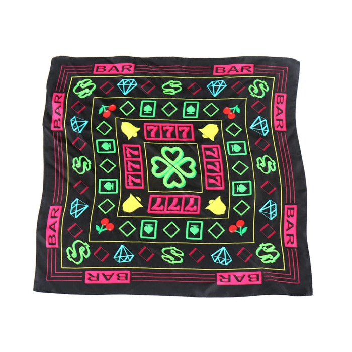 [쿠드그라스] COUP DE GRACE MONEY GANG SILK SCARF - 풋셀스토어