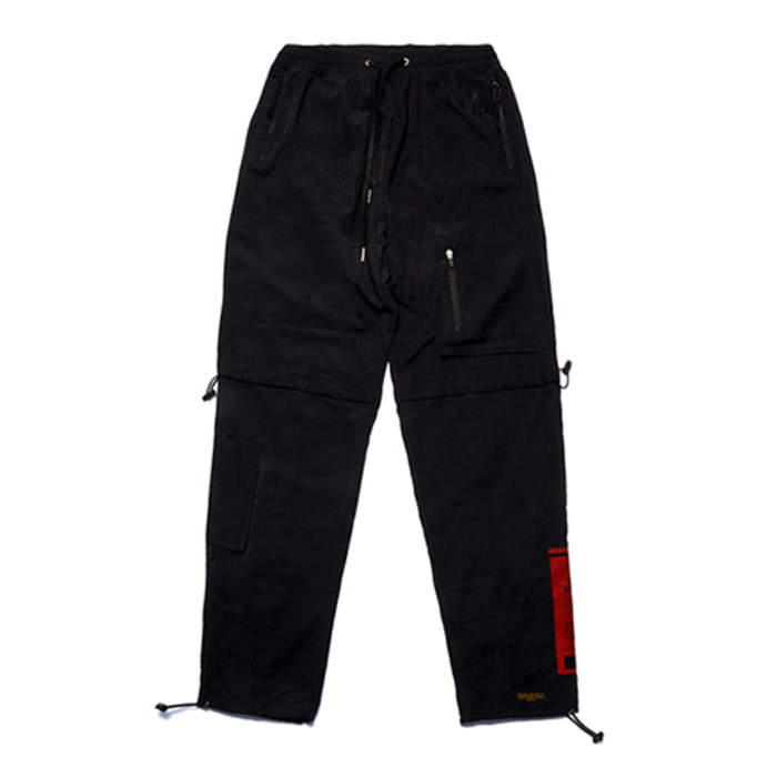 스티그마WASHED TECH JOGGER PANTS BLACK - 풋셀스토어