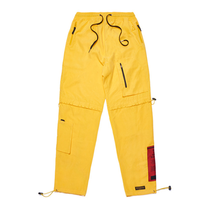 스티그마WASHED TECH JOGGER PANTS YELLOW - 풋셀스토어