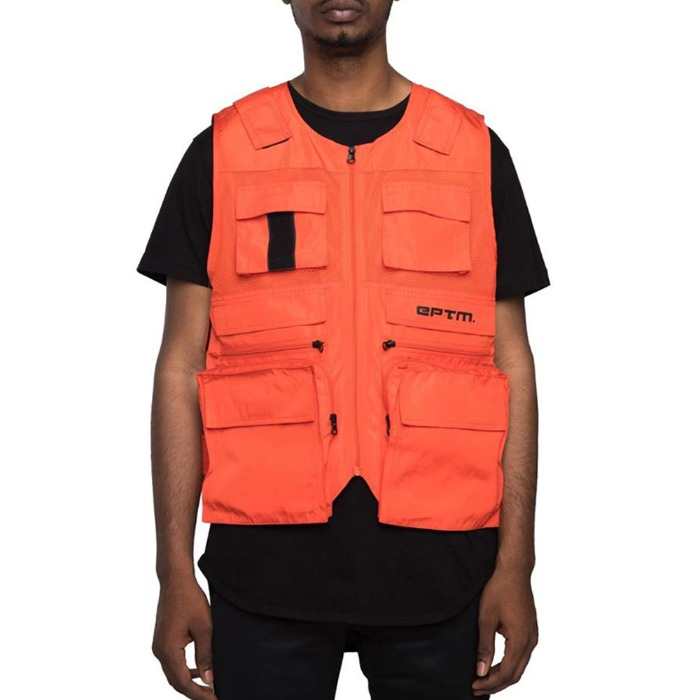 [EPTM] BALLISTIC UTLIE VEST ORANGE - 풋셀스토어