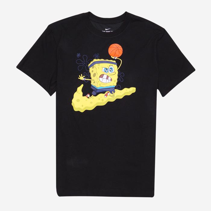 나이키 카이리 SBSP 스폰지밥 반팔티 CD0949-010 티셔츠 - 풋셀스토어