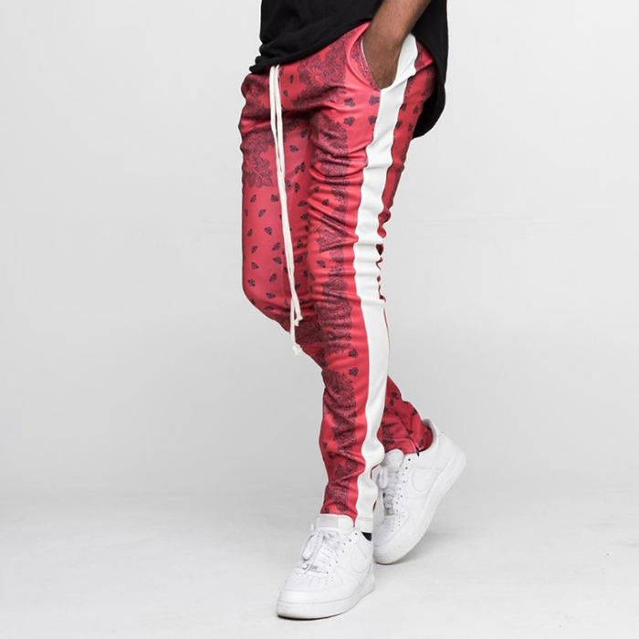 [EPTM] BANDANA TRACK PANTS RED - 풋셀스토어