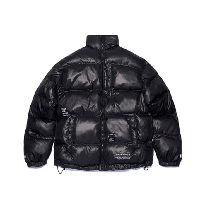 스티그마FLIGHT SHORT PADDING JACKET BLACK - 풋셀스토어