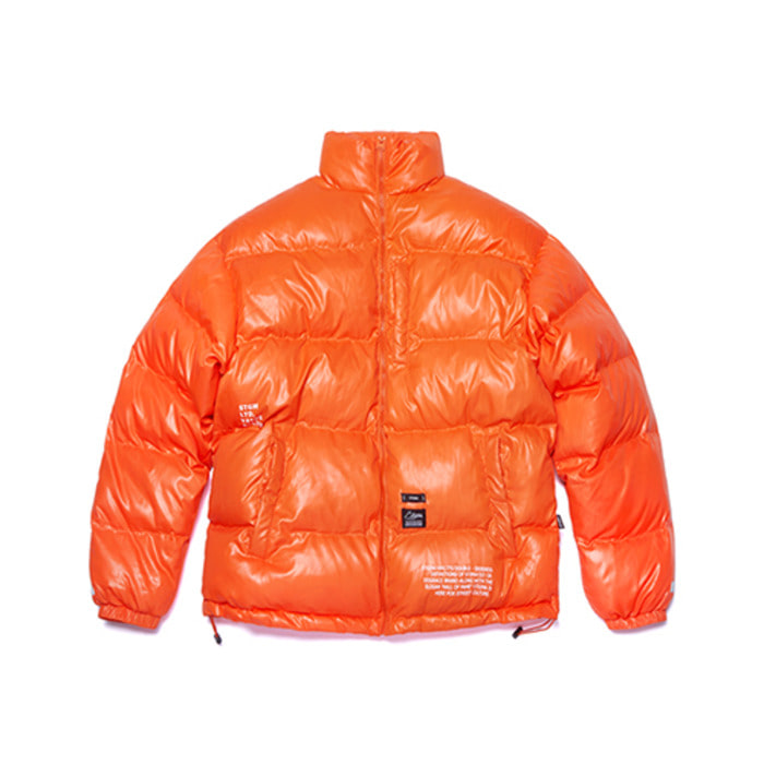 스티그마FLIGHT SHORT PADDING JACKET ORANGE - 풋셀스토어