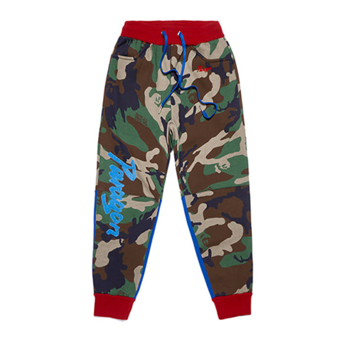 스티그마PARAGON HEAVY SWEAT JOGGER PANTS CAMOUFLAGE - 풋셀스토어