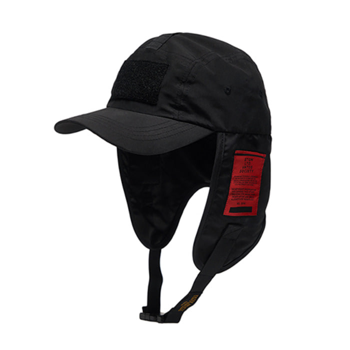 스티그마WASHED TECH FISHING CAP BLACK - 풋셀스토어