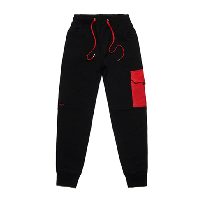 스티그마FEEL GOOD HEAVY SWEAT JOGGER PANTS BLACK - 풋셀스토어