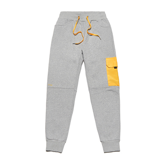 스티그마FEEL GOOD HEAVY SWEAT JOGGER PANTS GREY - 풋셀스토어
