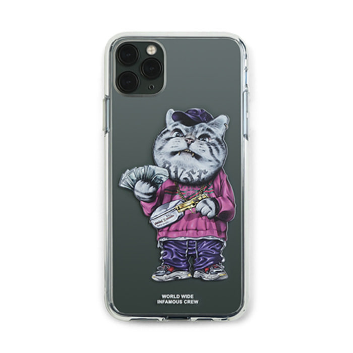 스티그마PHONE CASE CATSGANG CLEAR iPHONE 11 / 11 Pro / 11 Pro Max - 풋셀스토어