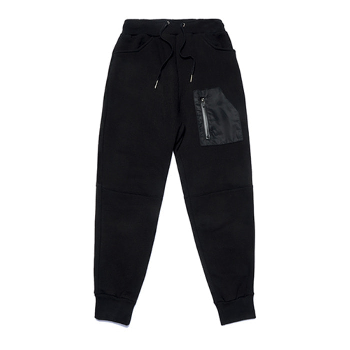 스티그마STGM TECH HEAVY SWEAT JOGGER PANTS BLACK - 풋셀스토어