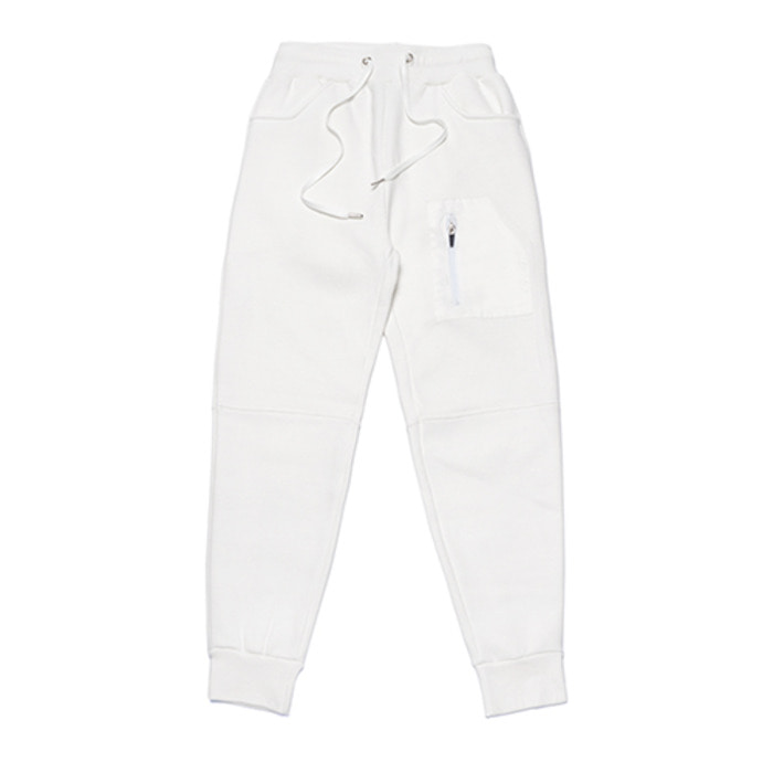 스티그마STGM TECH HEAVY SWEAT JOGGER PANTS WHITE - 풋셀스토어