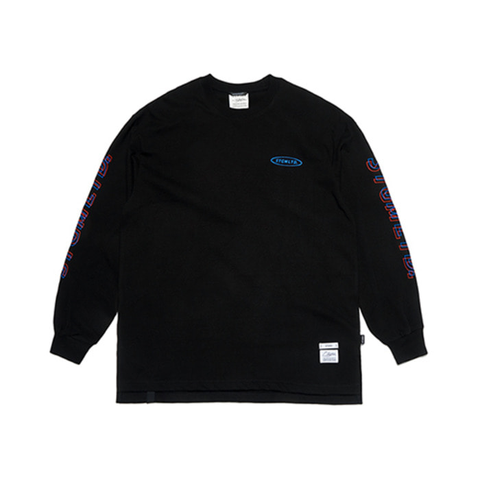 스티그마GALLOP OVERSIZED LONG SLEEVES T-SHIRTS BLACK - 풋셀스토어
