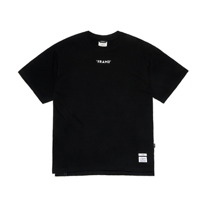 스티그마FRAME OVERSIZED T-SHIRTS BLACK - 풋셀스토어