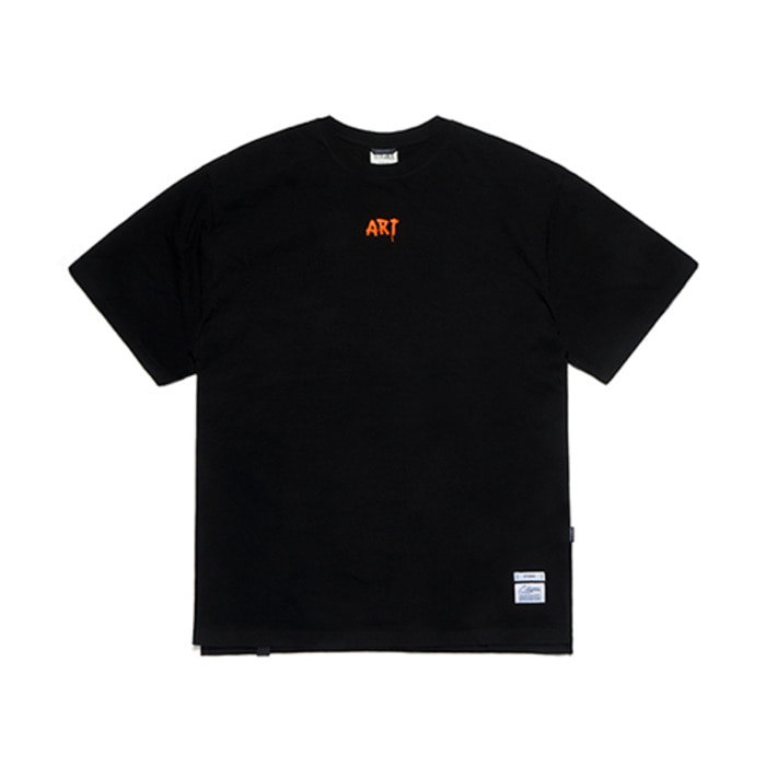 스티그마ART OVERSIZED T-SHIRTS BLACK - 풋셀스토어