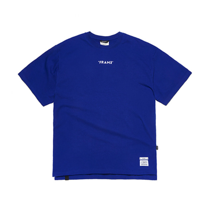스티그마FRAME OVERSIZED T-SHIRTS BLUE - 풋셀스토어