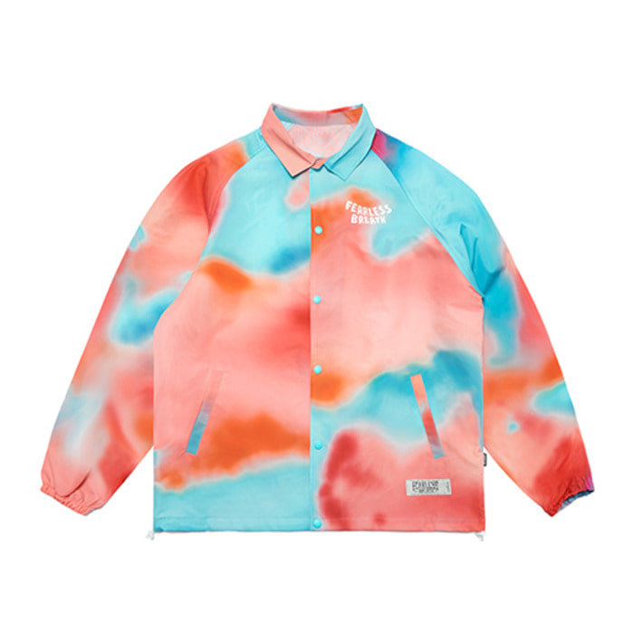 스티그마TROPICAL OVERSIZED COACH JACKET PATTERN - 풋셀스토어