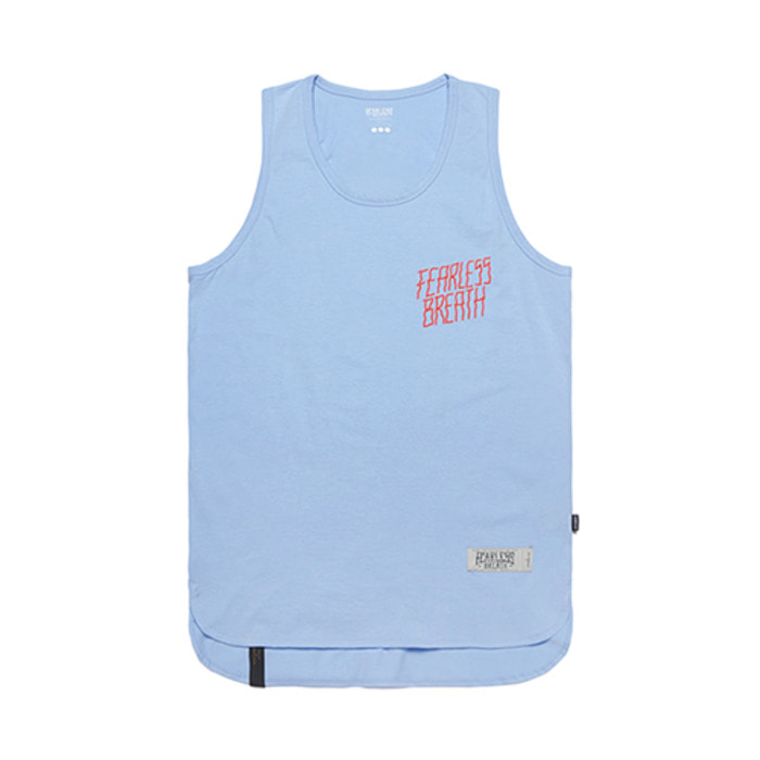 스티그마FEARLESS LONG SLEEVELESS BLUE - 풋셀스토어