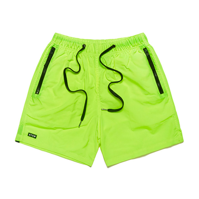 스티그마RUBBER SHORT PANTS NEON GREEN - 풋셀스토어
