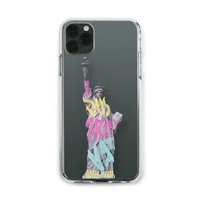 스티그마PHONE CASE LIBERTY CLEAR iPHONE 11 / 11 Pro / 11 Pro Max - 풋셀스토어