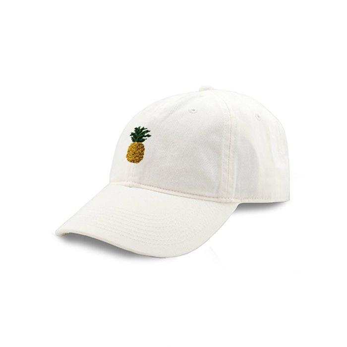[Smathers&Branson]Adult`s Hats Pineapple on White - 풋셀스토어