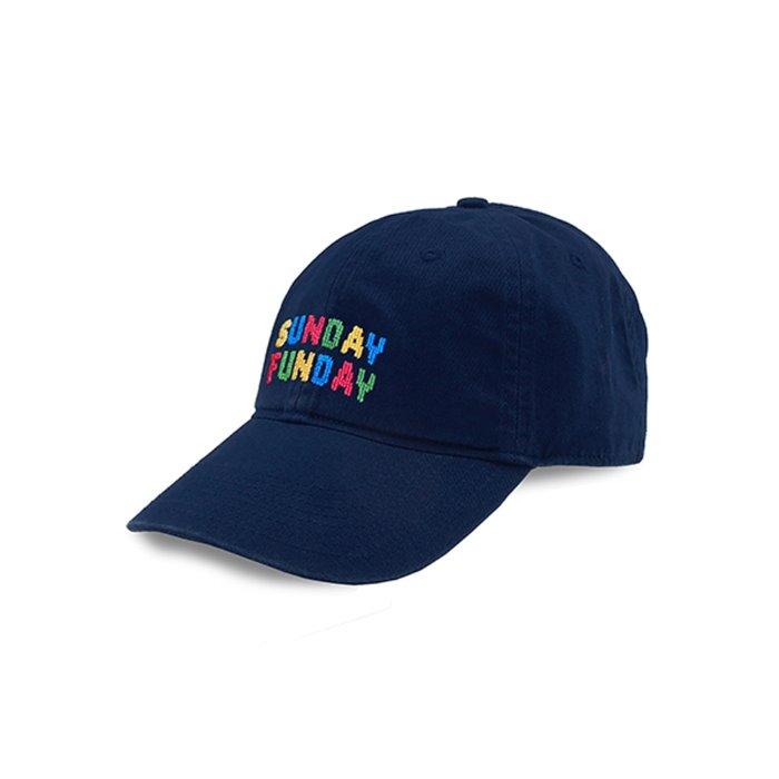 [Smathers&Branson]Adult`s Hats SundayFunday on Navy - 풋셀스토어