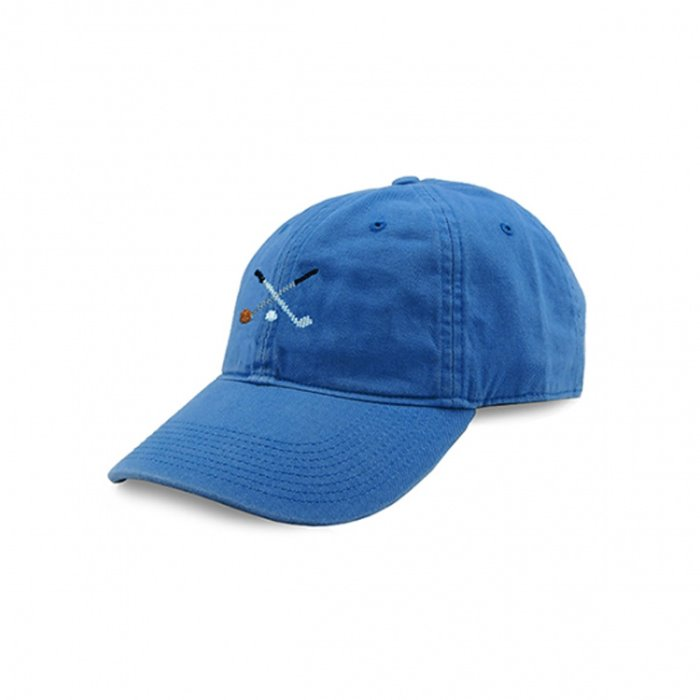 [Smathers&Branson]Adult`s Hats Crossed Clubs on Royal Blue - 풋셀스토어