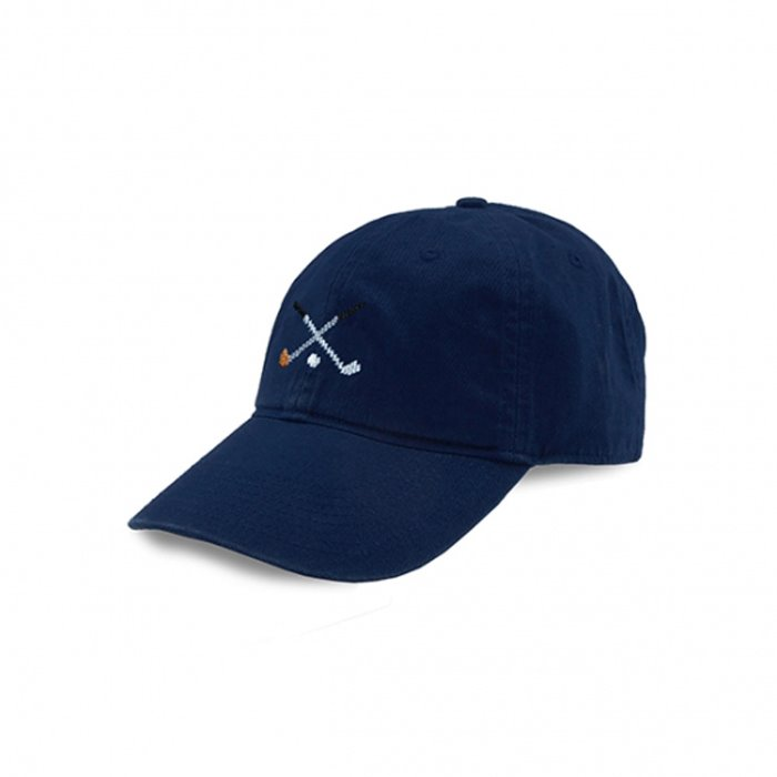 [Smathers&Branson]Adult`s Hats Crossed Clubs on Navy - 풋셀스토어