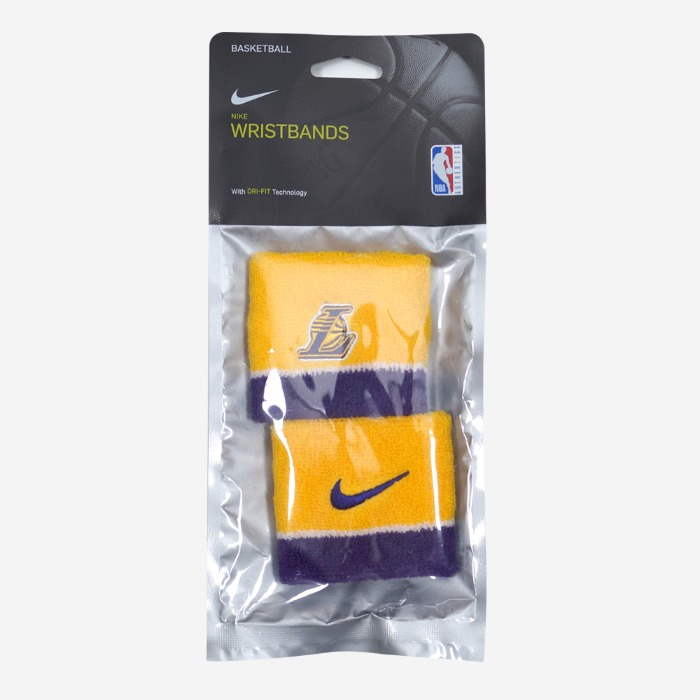 나이키 NBA LA 레이커스 리스트밴드