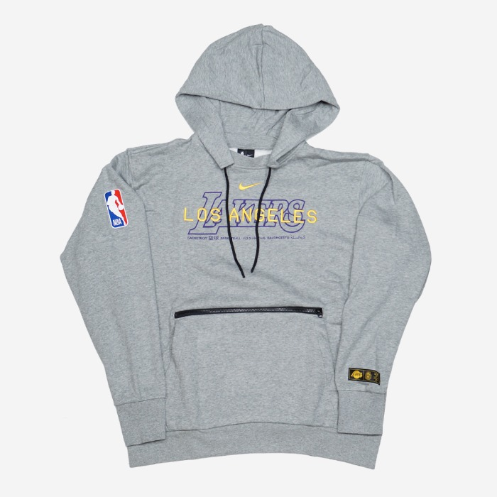 나이키 NBA LA 레이커스 코트사이드 풀오버 후드티