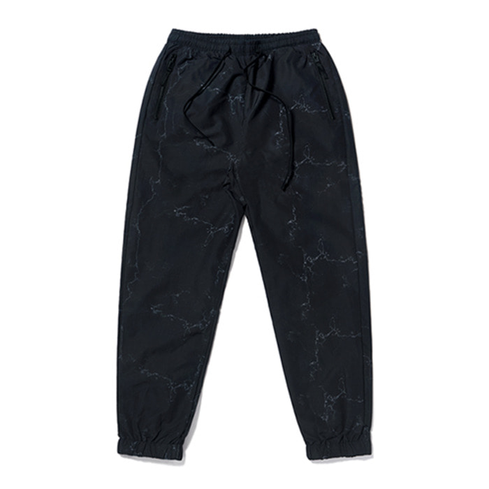 스티그마KEIL ZIPPER JOGGER PANTS MARBLE BLACK - 풋셀스토어